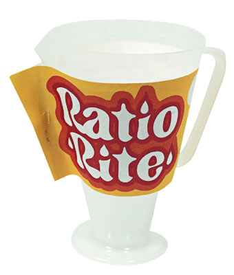 Ratio Rite Oil Gas Mixing Cup